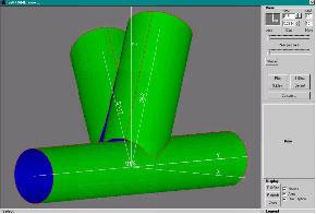 Screenshot Intersecting nodes