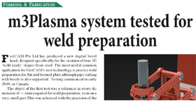 FastCAM Weld Prep article published in AMT